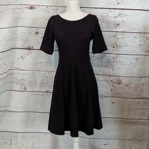 J. Crew Short Sleeve A-Line  Knit Dress Size 8